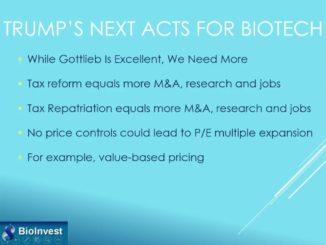 Picking Biotech Stocks in the Trump Era